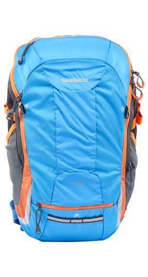 Shimano Tsukinist II reppu 25 L , oranssi/sininen